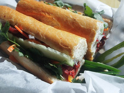 Grilled Pork Banh Mi